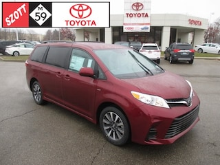 New 2019 Toyota Sienna LE Van for sale near Detroit