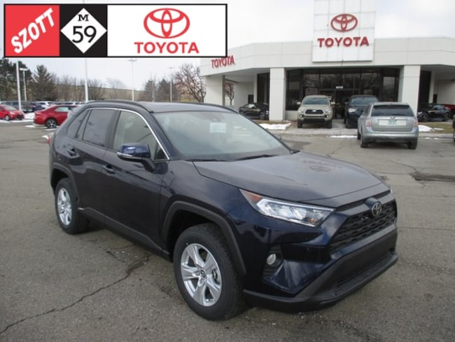 New 2019 Toyota RAV4 XLE SUV in Waterford