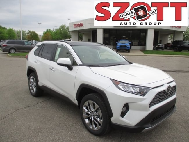 New 2019 Toyota RAV4 Limited SUV in Waterford