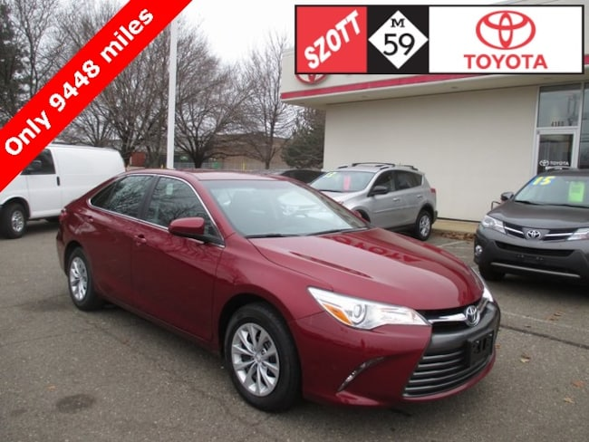 Used 2016 Toyota Camry LE Sedan in Waterford