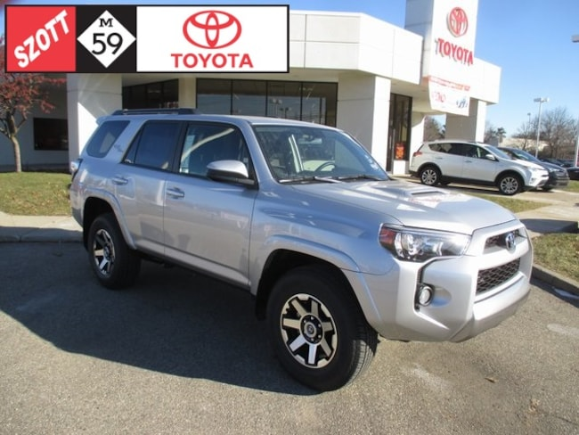 New 2019 Toyota 4Runner 4X4 TRD SUV in Waterford
