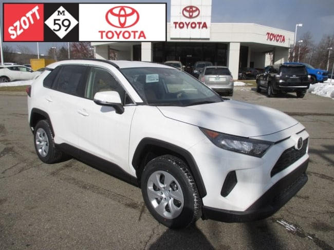 New 2019 Toyota RAV4 LE SUV in Waterford