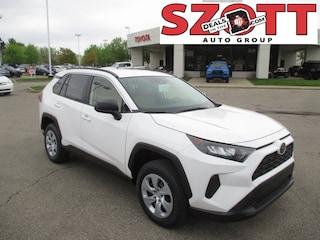 New 2019 Toyota RAV4 LE SUV for sale near Detroit