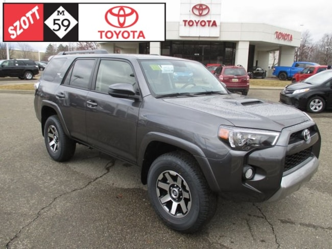 New 2019 Toyota 4Runner TRD SUV in Waterford