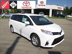 New 2019 Toyota Sienna LE Van for sale near Detroit, MI