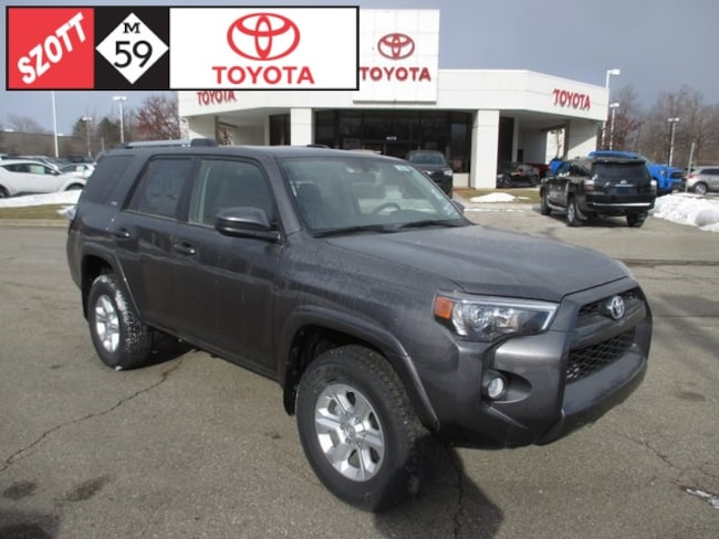 New 2019 Toyota 4Runner SR5 SUV in Waterford