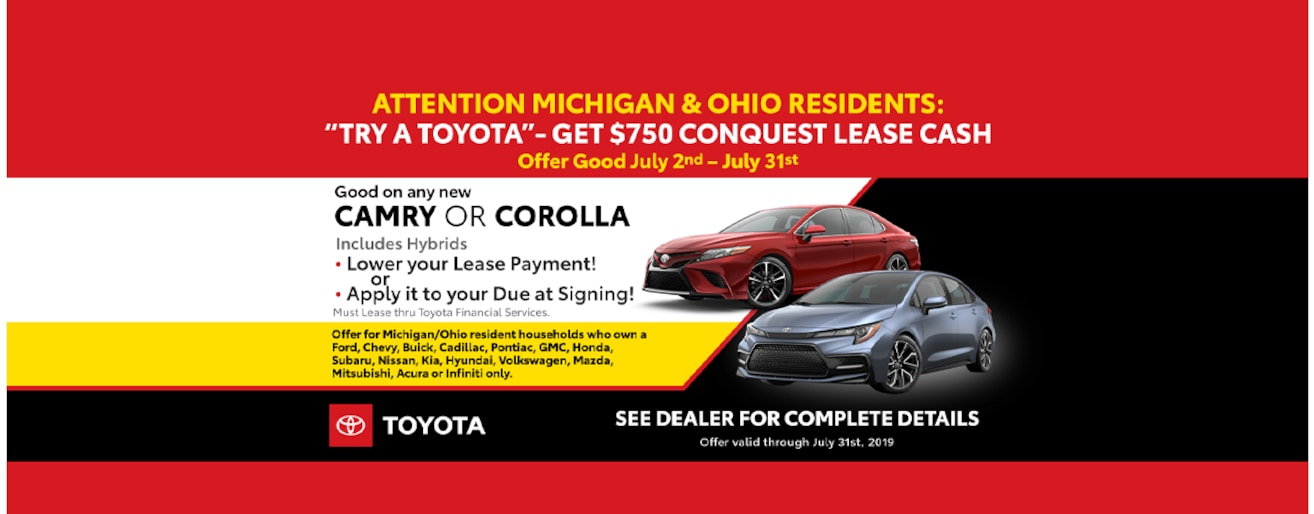 New 2019 Toyota Used Car Dealership In Waterford Mi Szott M 59