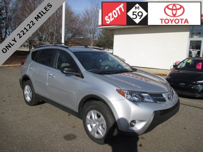 Used 2013 Toyota RAV4 LE SUV in Waterford