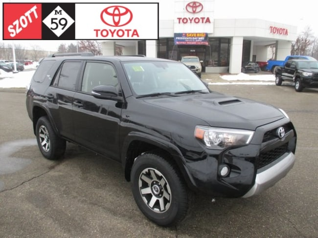 New 2019 Toyota 4Runner TRD Off-Road SUV in Waterford