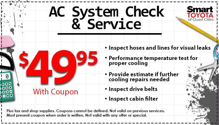 $49.95 A/C Service