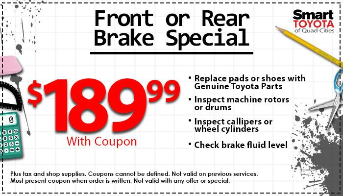 Front | Rear Brake Special