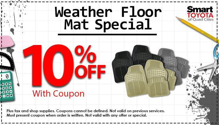 10% Off Floor Mats