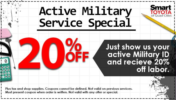 20% Off - Military