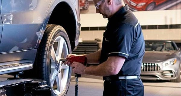 Mercedes-Benz Tire service