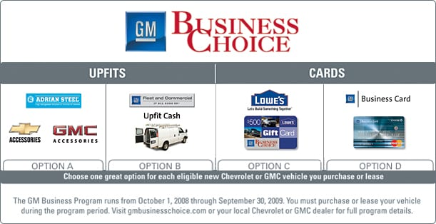 Gm business choice how colourmoves