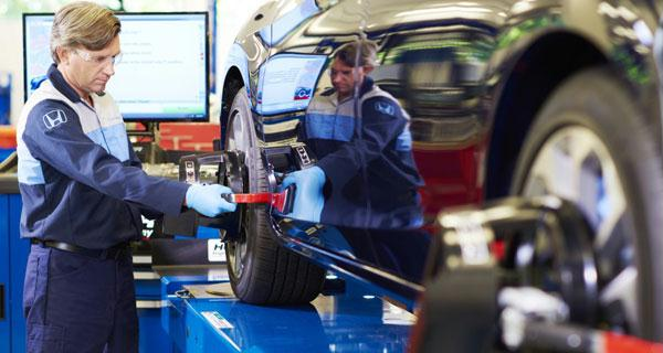 Honda Wheel Alignment Service