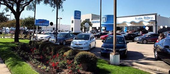 Honda Dealership Dallas Tx >> About Us Lute Riley Honda New Used Car Dealer Near