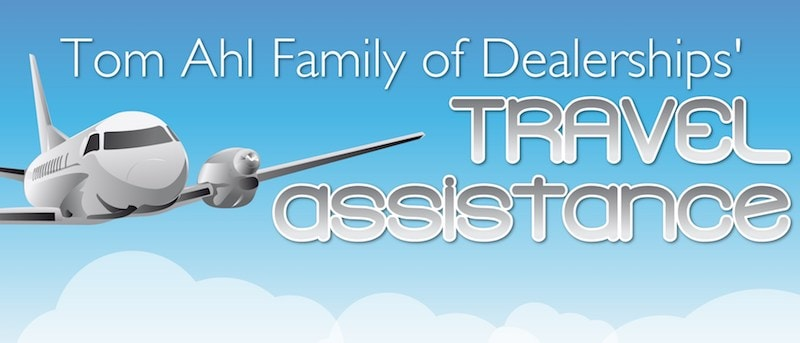 Tom Ahl travel assistance
