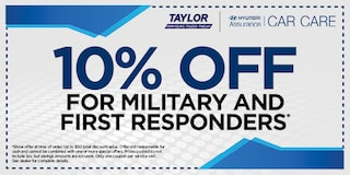 10% Off Military and First Responders