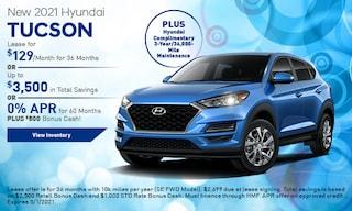 New 2021 Hyundai Tucson - January