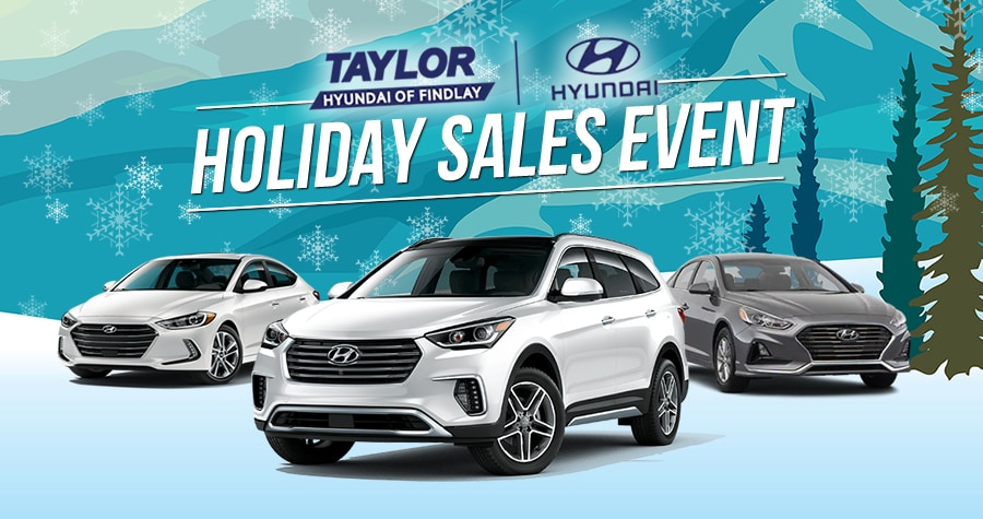 Hyundai Holiday Sales Event