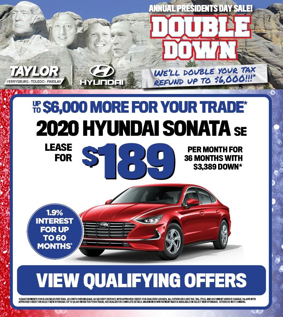2020 Hyundai Sonata SE Lease
