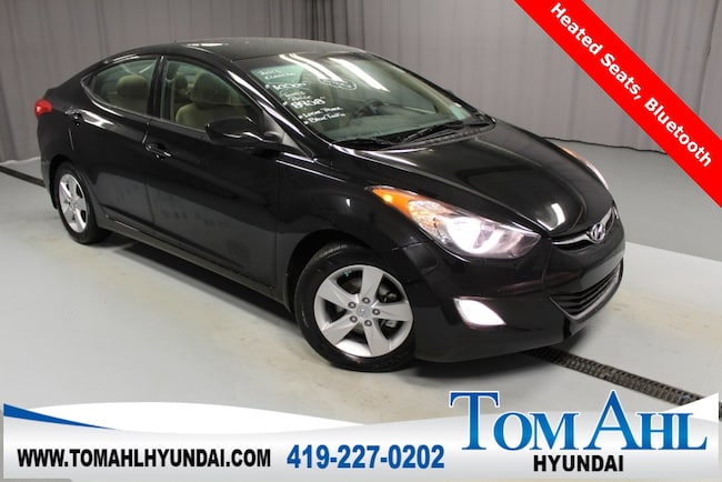 Pre-Owned 2013 Hyundai Elantra GLS Sedan for sale in Lima, OH
