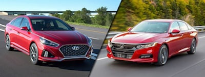 2018 Hyundai Sonata vs Honda Accord