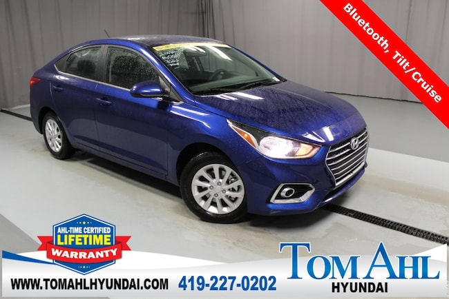 New 2019 Hyundai Accent SEL Sedan For Sale/Lease Lima, OH