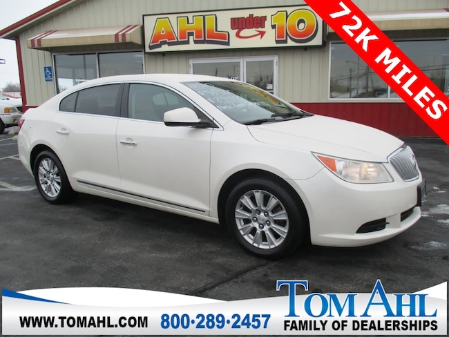 Pre-Owned 2010 Buick Lacrosse CX Sedan for sale in Lima, OH