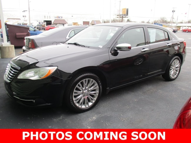 Pre-Owned 2012 Chrysler 200 Limited Sedan for sale in Lima, OH