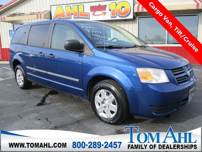 Pre-Owned 2010 Dodge Grand Caravan CV Cargo Van for sale in Lima, OH