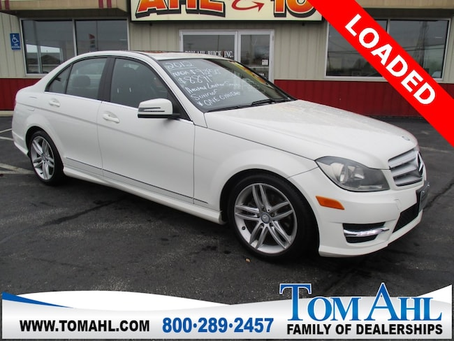 Pre-Owned 2012 Mercedes-Benz C-Class C 300 4MATIC Sedan for sale in Lima, OH