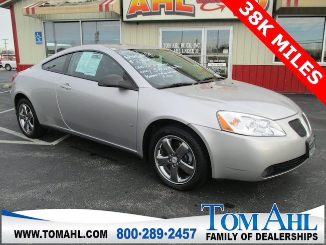 Pre-Owned 2007 Pontiac G6 GT Coupe for sale in Lima, OH