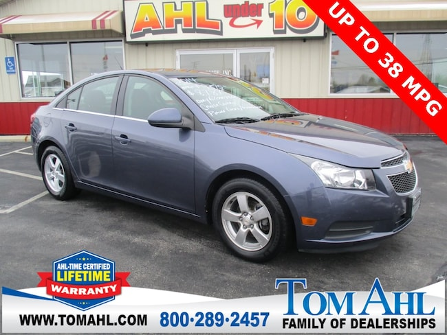 Pre-Owned 2014 Chevrolet Cruze 1LT Sedan for sale in Lima, OH