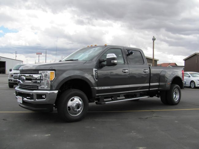 2017 Ford F-350 Black Leather Truck Crew Cab