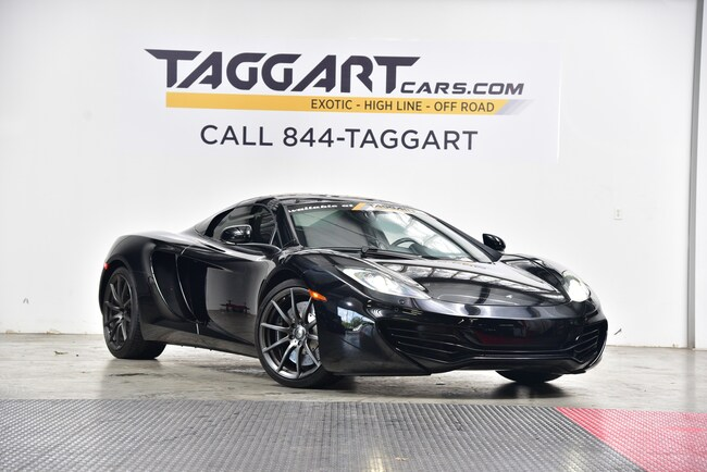 Used 2013 McLaren MP4-12C Base Convertible For Sale Cary, NC