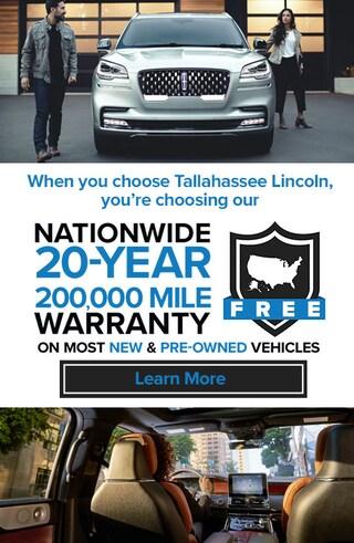 20-Year/200,000-Mile Warranty