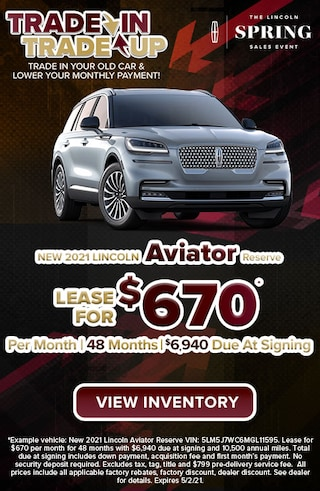 New 2021 Lincoln Aviator Reserve Models