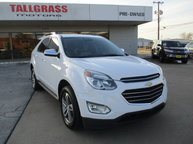 Used 2016 Chevrolet Equinox For Sale at Tallgrass Motors | VIN