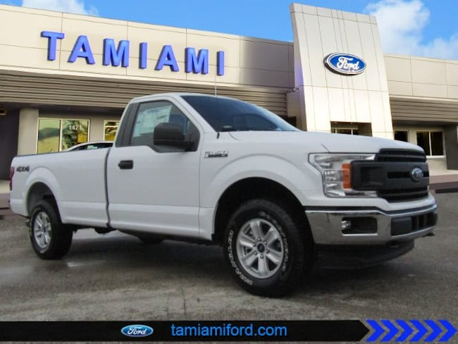 New 2018 Ford F-150 XL Regular Cab Pickup Naples Florida