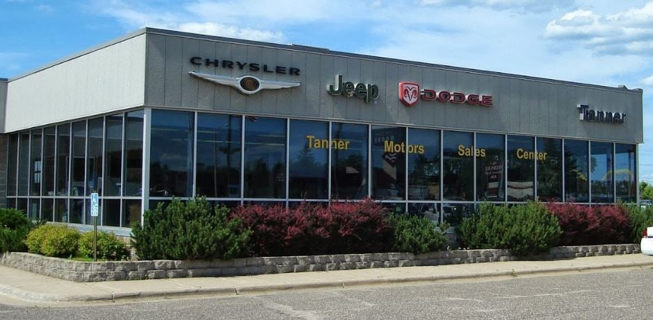 new chrysler dodge jeep ram dealer used car dealer in brainerd mn tanner motors serves. Black Bedroom Furniture Sets. Home Design Ideas