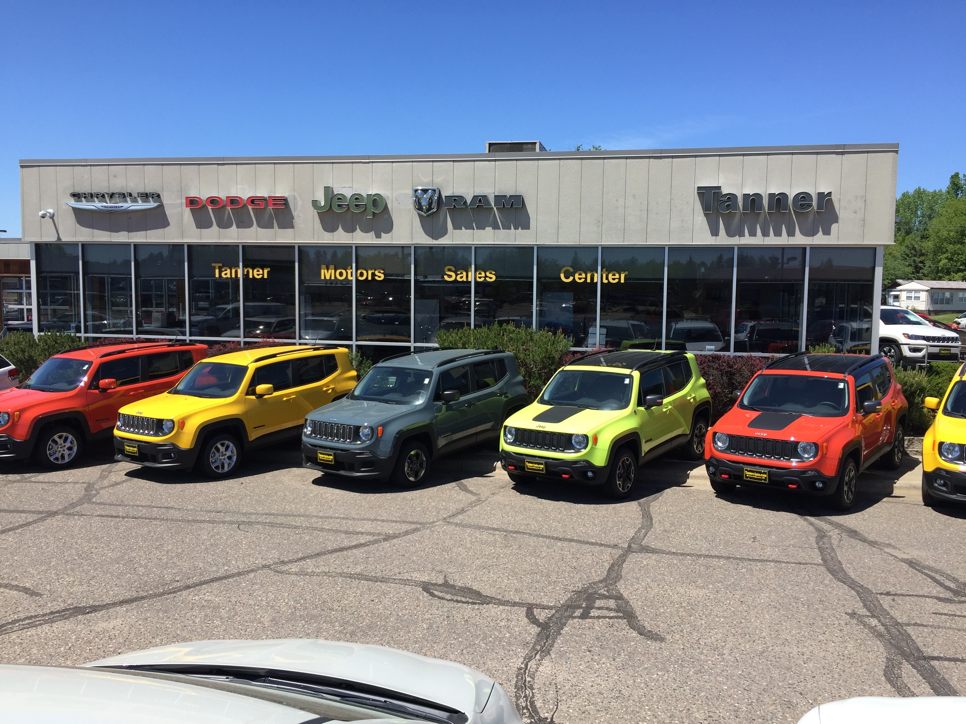 about tanner motors in brainerd mn new ram jeep dodge