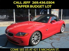 Bargain 2004 BMW Z4 2.5i Roadster for sale in Paw Paw MI