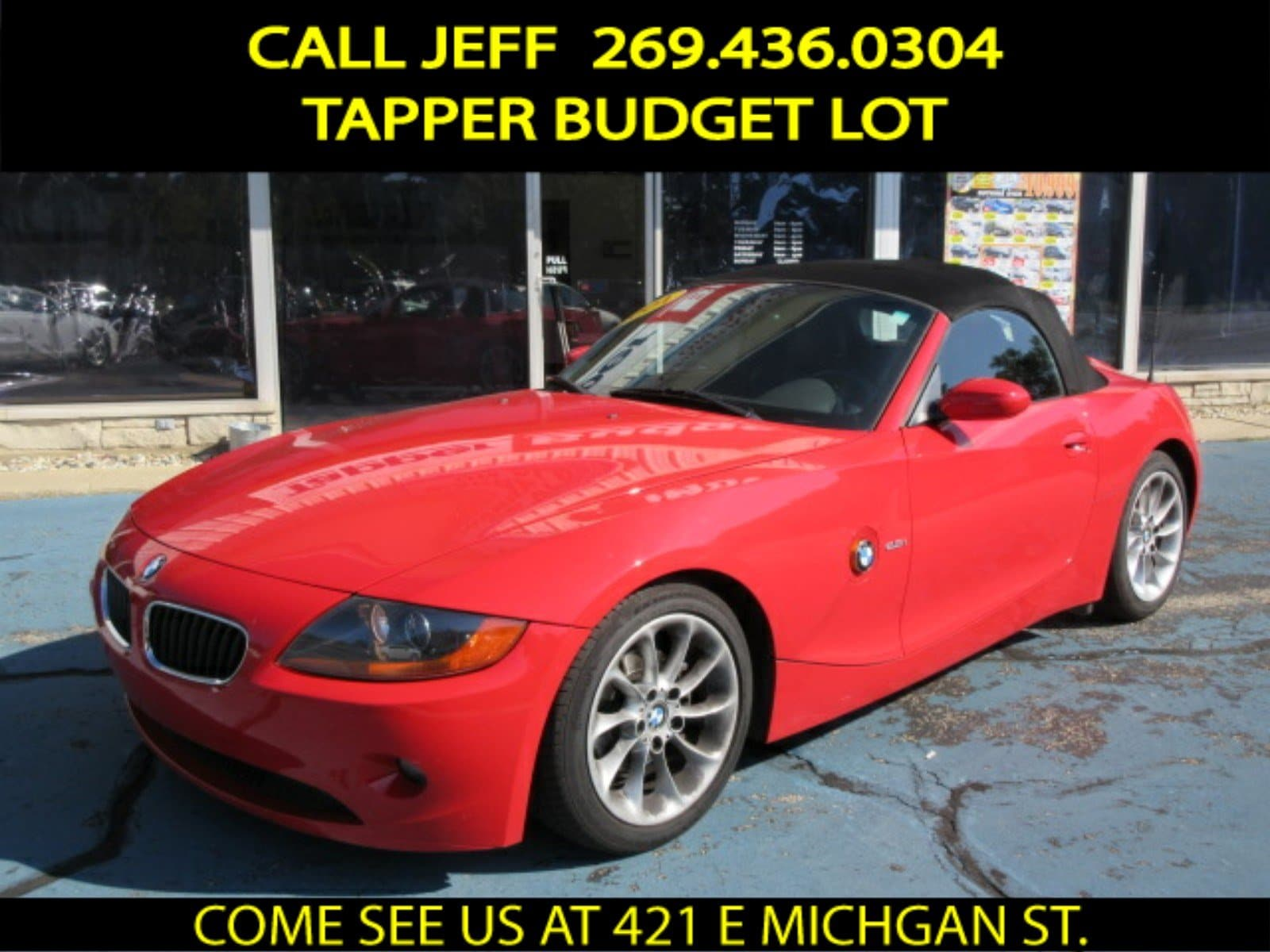Used 2004 BMW Z4 2.5i Convertible for sale in Paw Paw MI