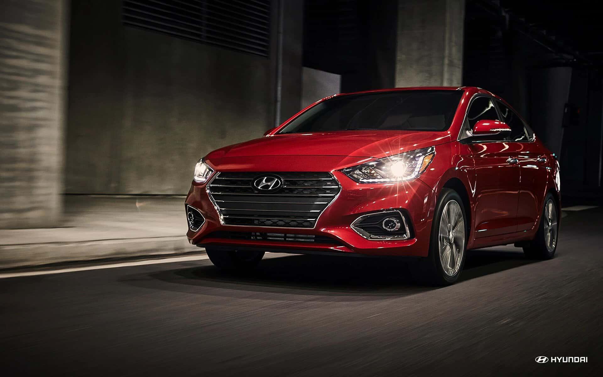 Lease a 2020 Hyundai Accent near Cranston RI