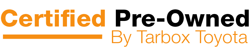 Certified Pre-Owned by Tarbox Toyota