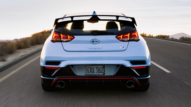 High-Performance Hot Hatch: The 2020 Hyundai Veloster N