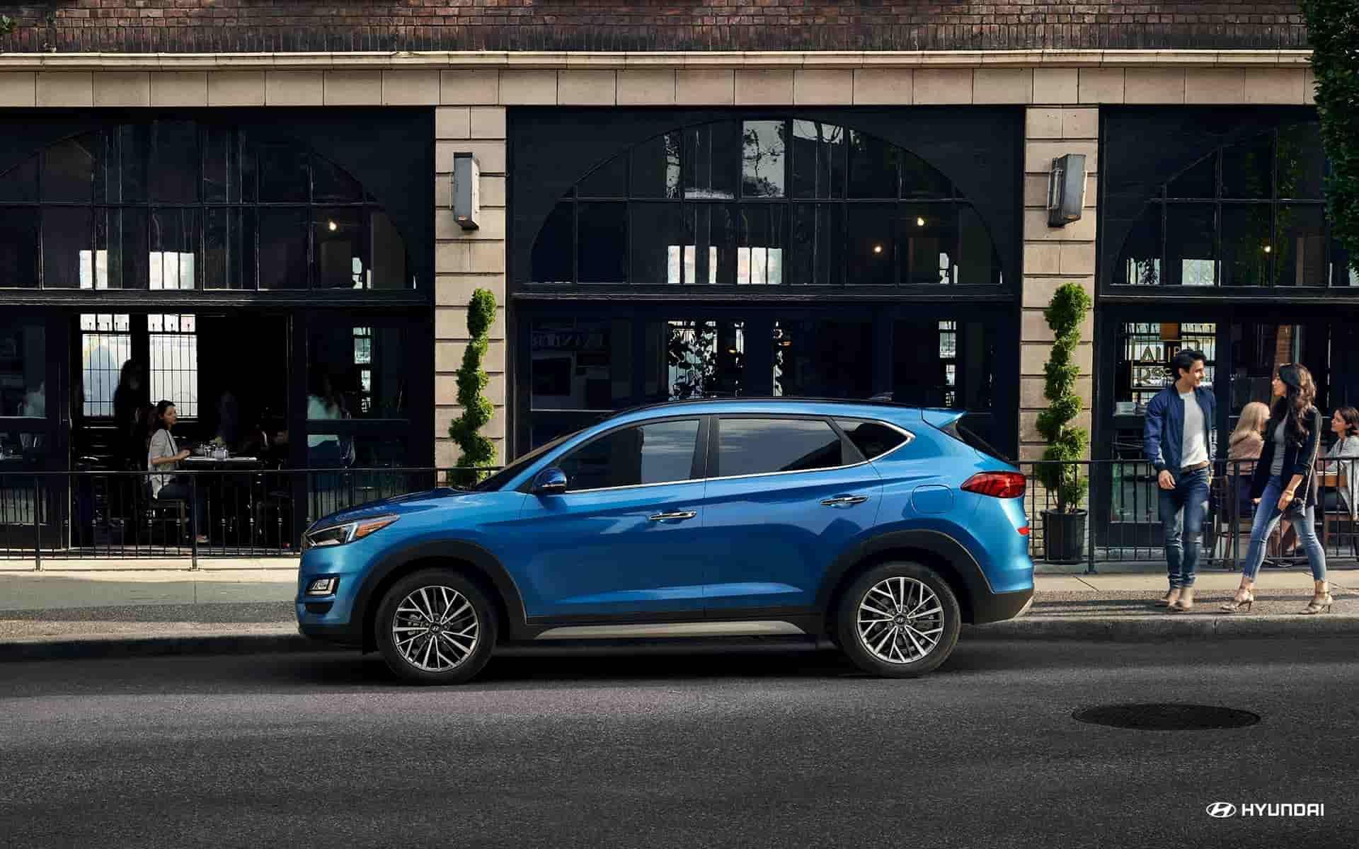 Lease a 2020 Hyundai Tucson near Newport RI