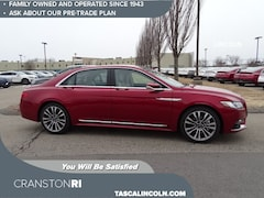 New 2019 Lincoln Continental Select Sedan for sale in Cranston, RI